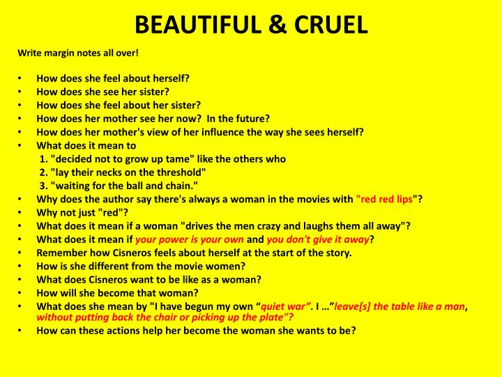 BEAUTIFUL & CRUEL