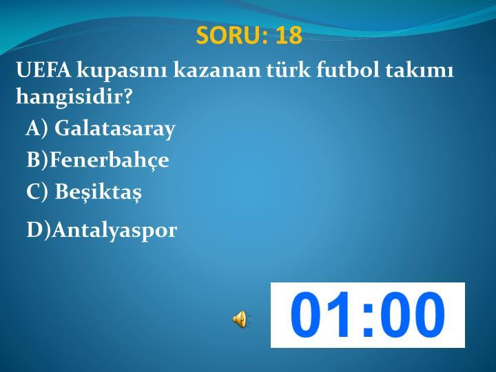 SORU: 18