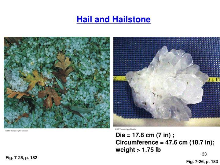 Hail and Hailstone