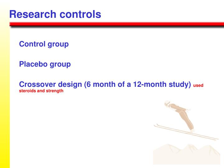 Research controls
