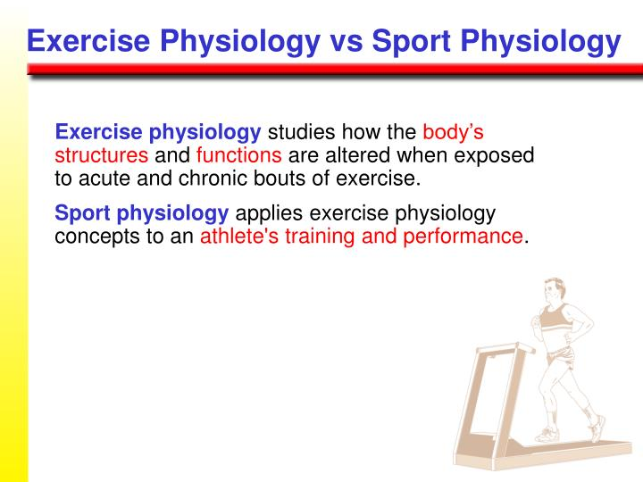 Exercise Physiology vs Sport Physiology