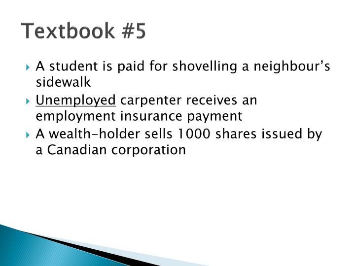 Textbook #5
