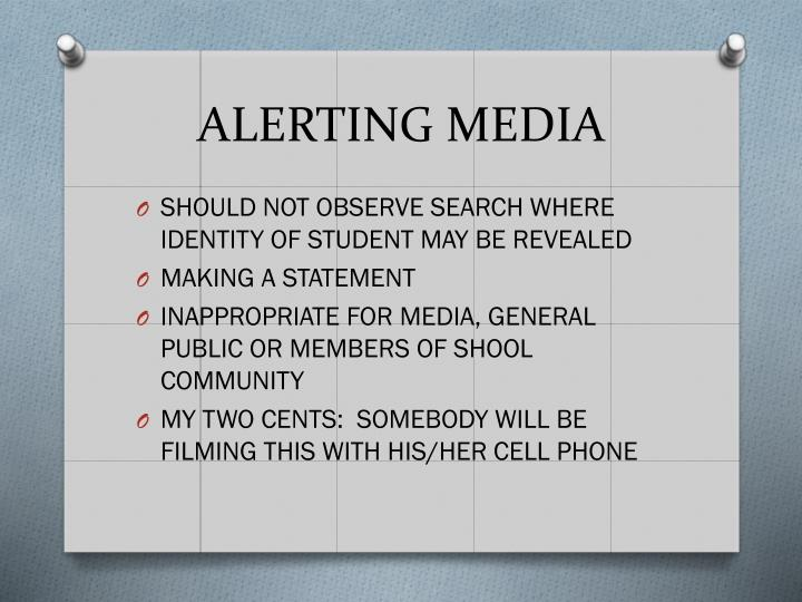 ALERTING MEDIA