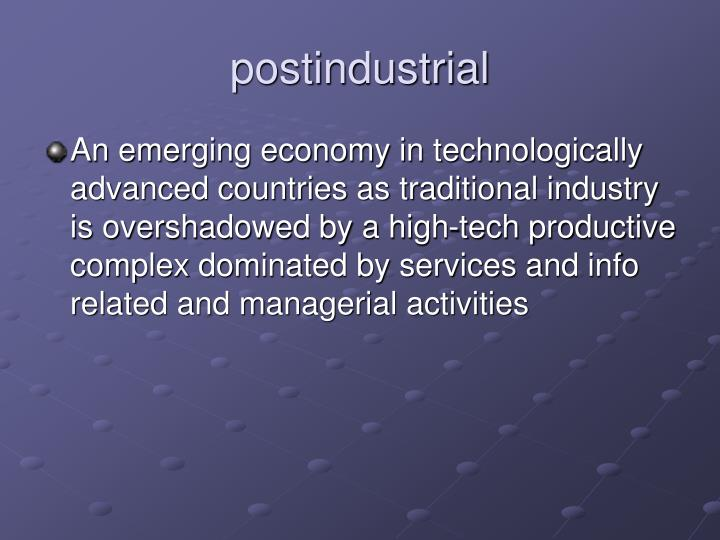 postindustrial