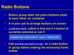 radio buttons2