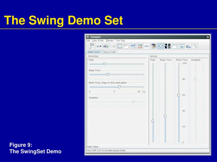 The Swing Demo Set