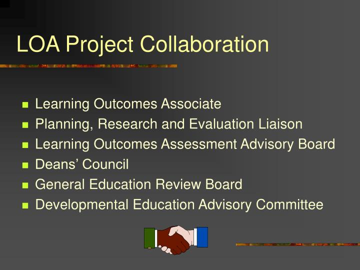 LOA Project Collaboration