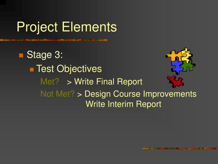 Project Elements
