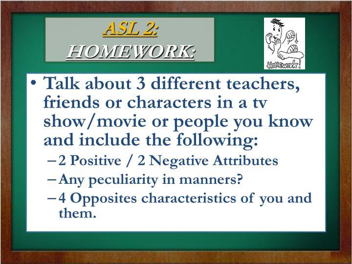 ASL 2: