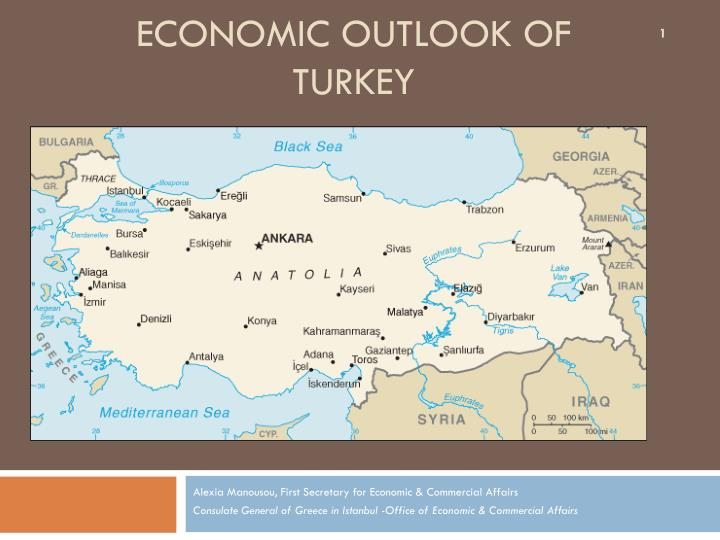 Economic outlook of turkey
