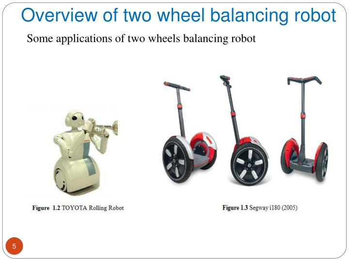Overview of two wheel balancing robot