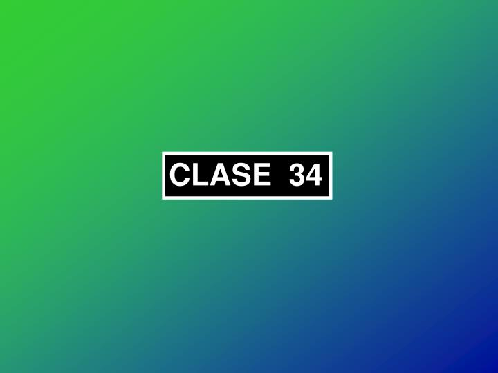 CLASE  34