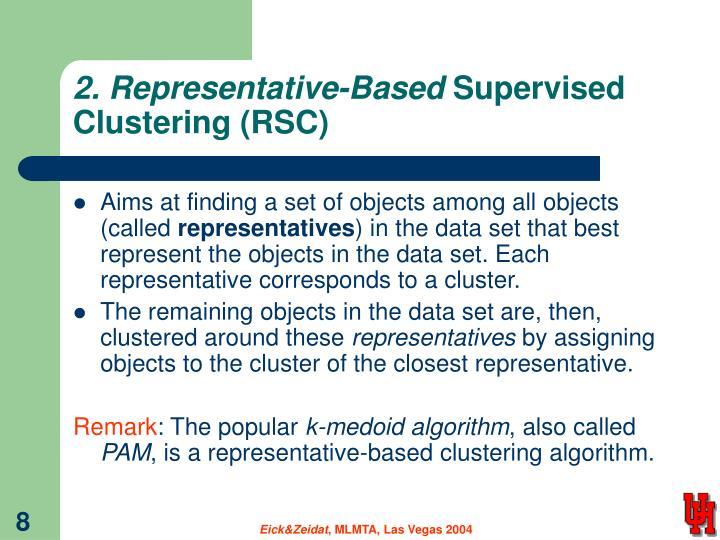 2. Representative-Based