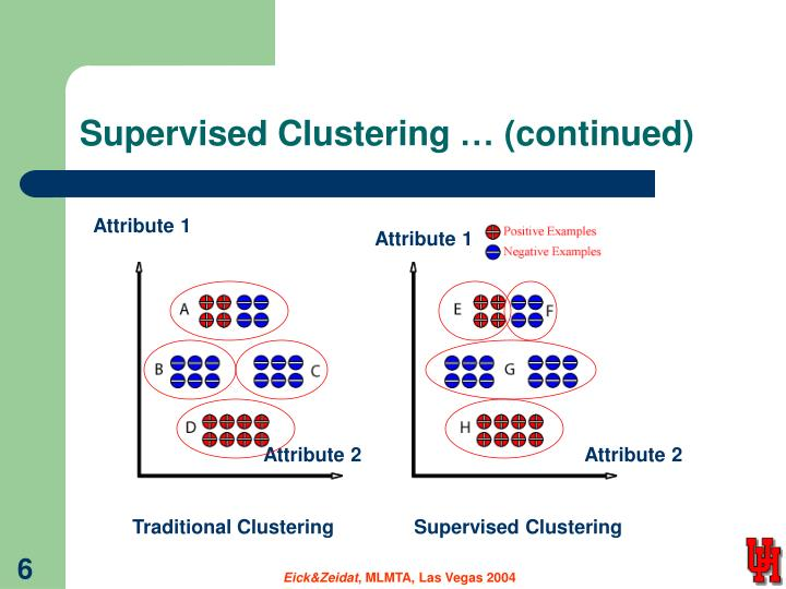 Supervised Clustering … (continued)