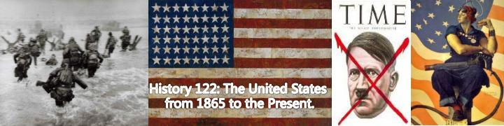 History 122: The United States