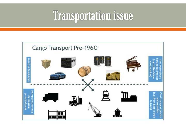 Transportation issue