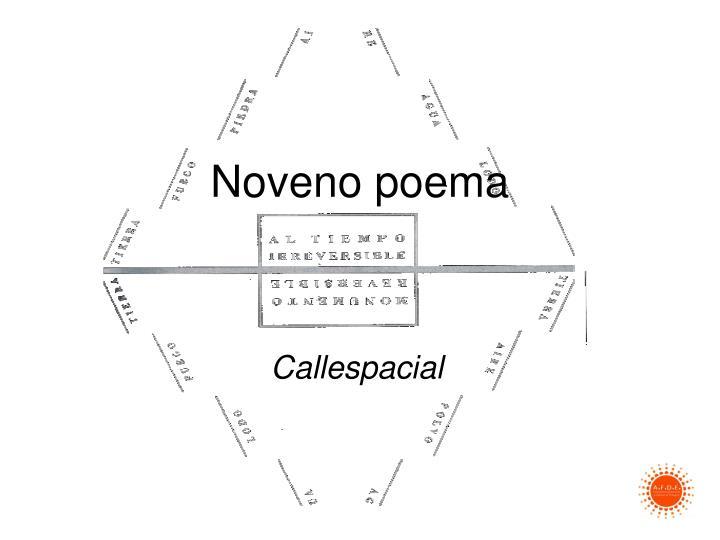 Noveno poema