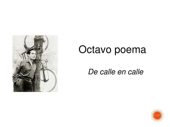 Octavo poema