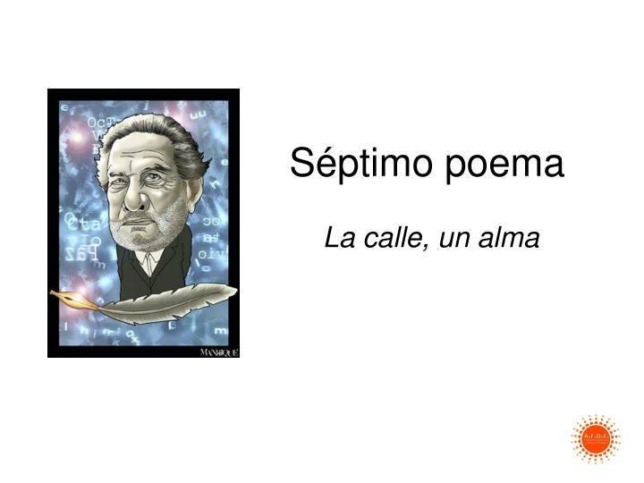 Séptimo poema