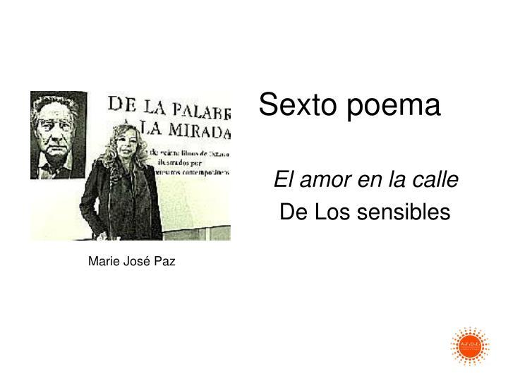 Sexto poema