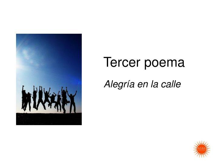 Tercer poema