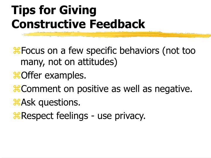 Tips for Giving