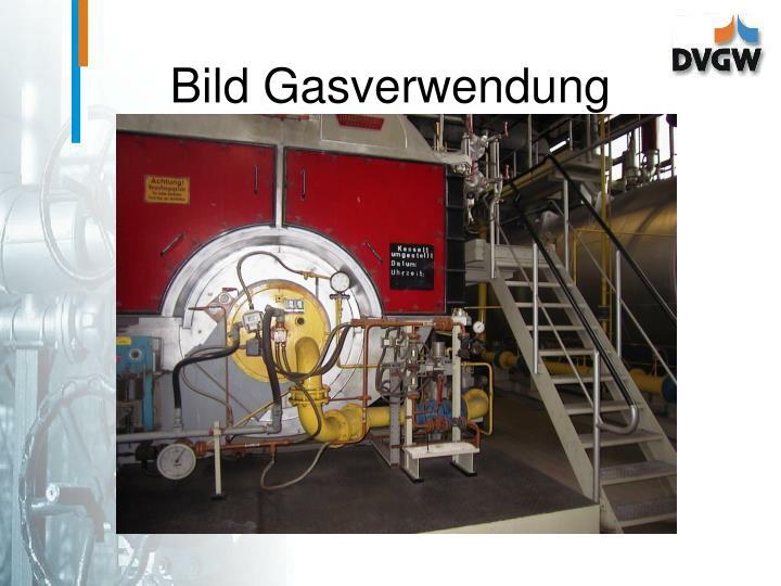 Bild Gasverwendung