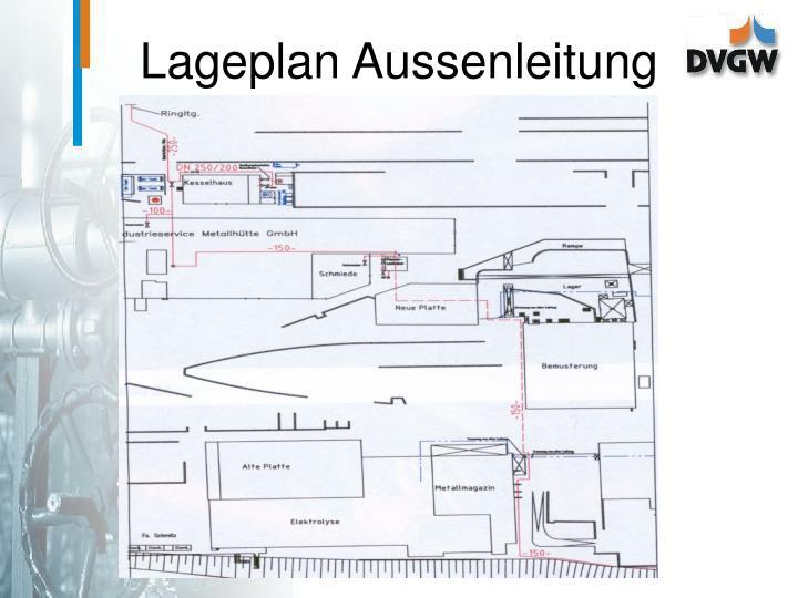 Lageplan Aussenleitung
