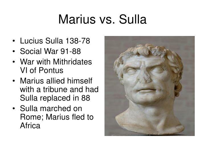 Lucius Sulla 138-78