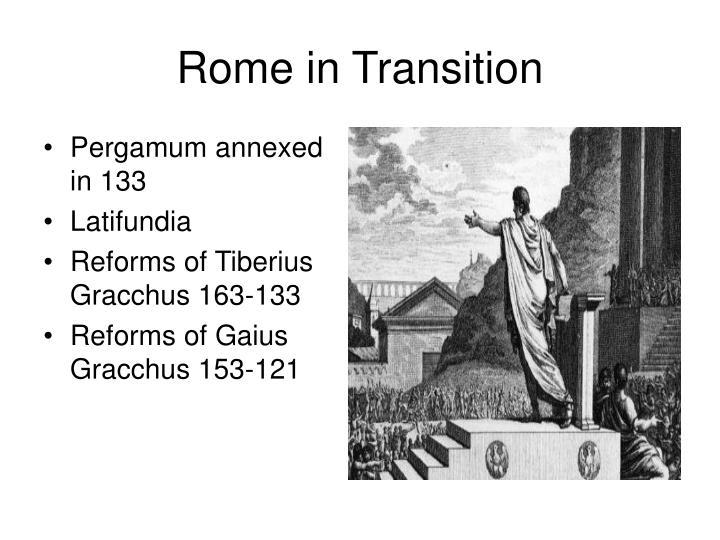 Pergamum annexed in 133