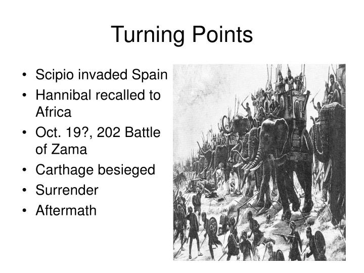 Scipio invaded Spain