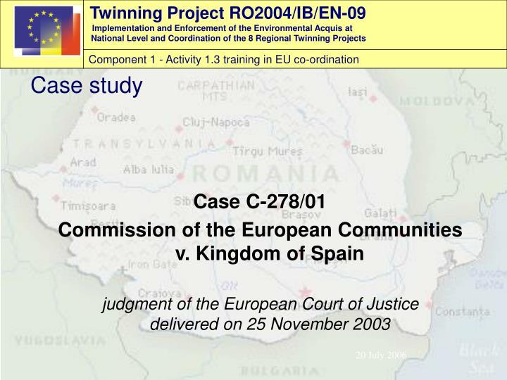 Case C-278/01