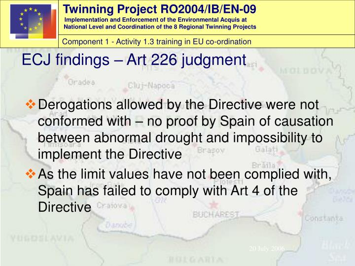 Derogations allowed by the Directive were not conformed with – no proof by Spain of causation between abnormal drought and impossibility to implement the Directive