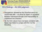 ecj findings art 226 judgment