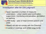 investigation after art 226 judgment