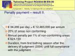 penalty payment result ii