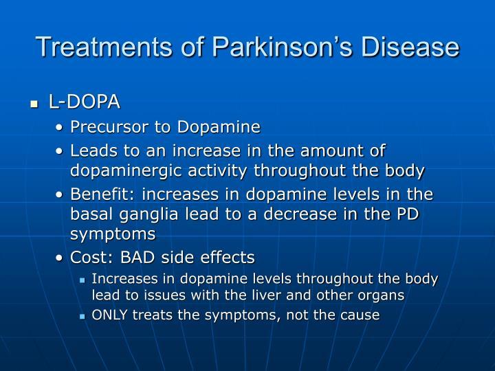 Treatments of Parkinson's Disease