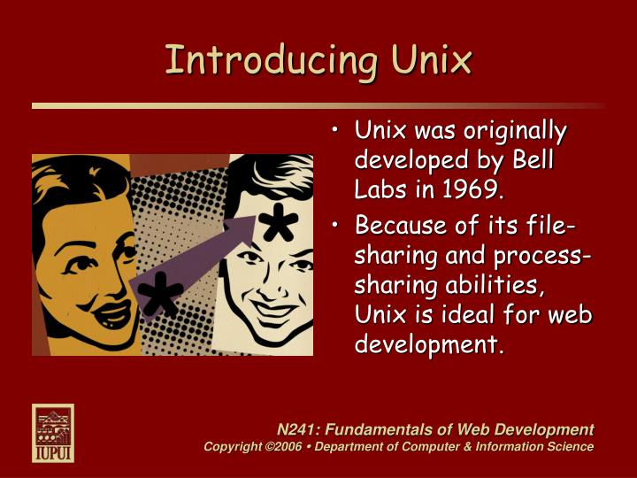 Introducing Unix