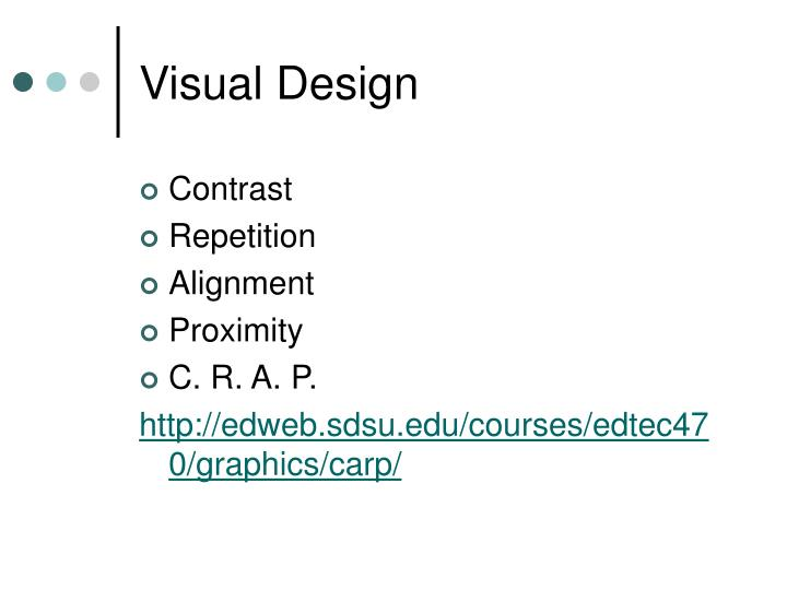 Visual Design