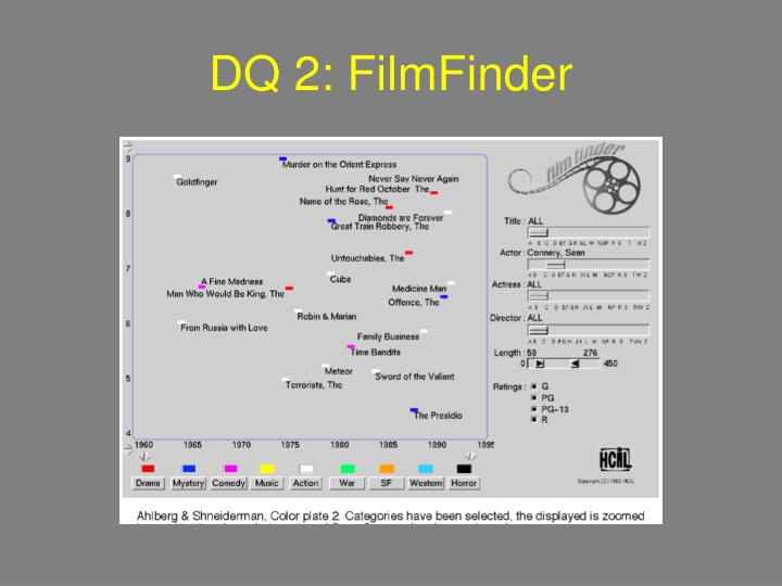 DQ 2: FilmFinder