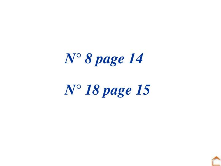 N° 8 page 14