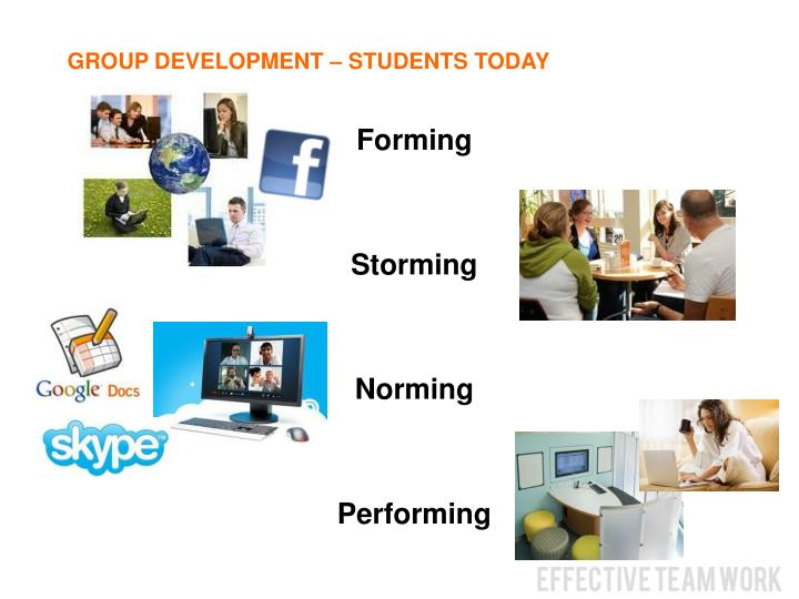 GROUP DEVELOPMENT – STUDENTS TODAY
