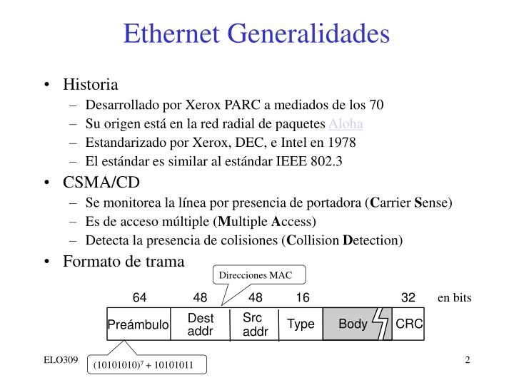 Ethernet Generalidades