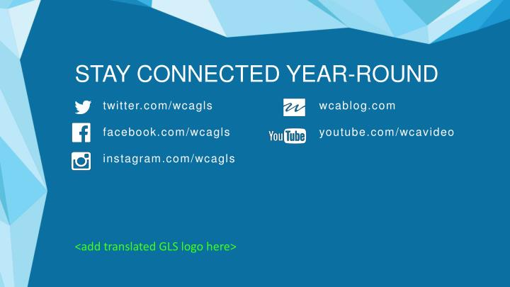 STAY CONNECTED YEAR-ROUND