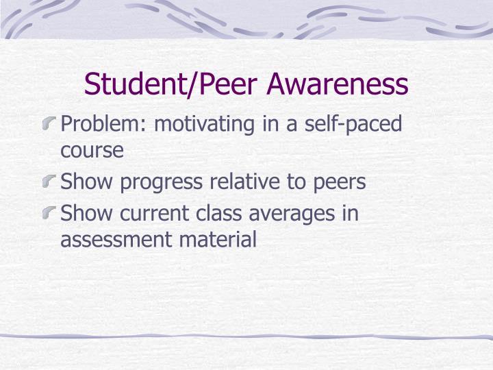 Student/Peer Awareness