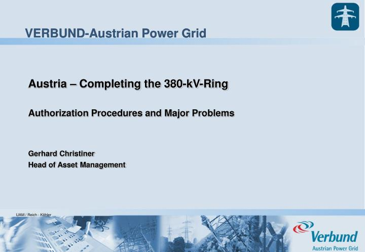 Austria – Completing the 380-kV-Ring