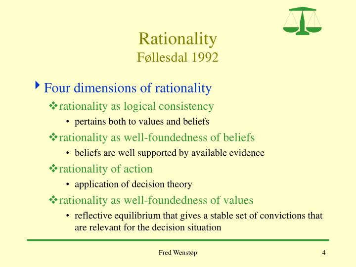 Rationality