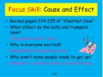 focus skill cause and effect1