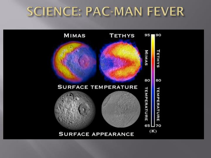 SCIENCE: PAC-MAN FEVER