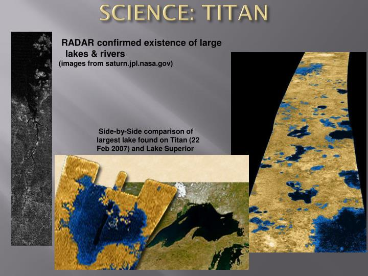 SCIENCE: TITAN